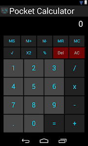 Pocket Calculator v1.0