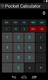 Pocket Calculator 1.0 APK