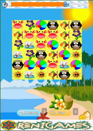 【免費休閒App】Beach Fun Match-APP點子