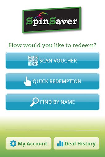 SpinSaver Merchant App