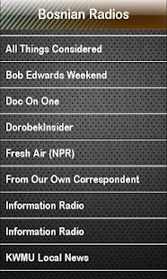 Bosnian Radio Bosnian Radios - screenshot thumbnail