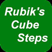 Rubik's Cube Steps