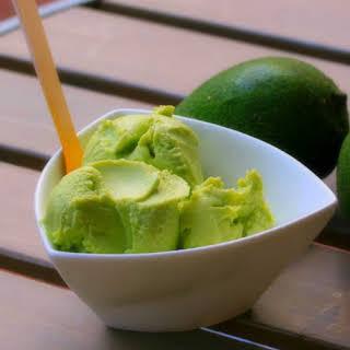 Dairy Free Avocado Coconut Icecream.