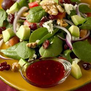 Cranberry Walnut Salad With Raspberry Vinaigrette Recipes.