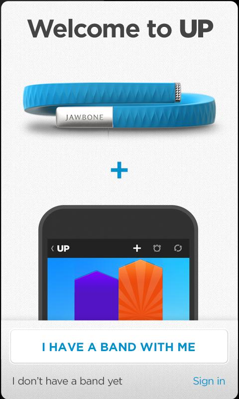 UP by Jawbone - screenshot
