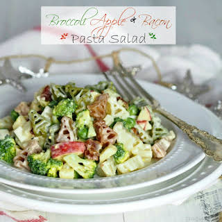Broccoli, Apple & Bacon Pasta Salad.