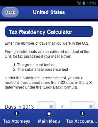 Global Taxes- screenshot