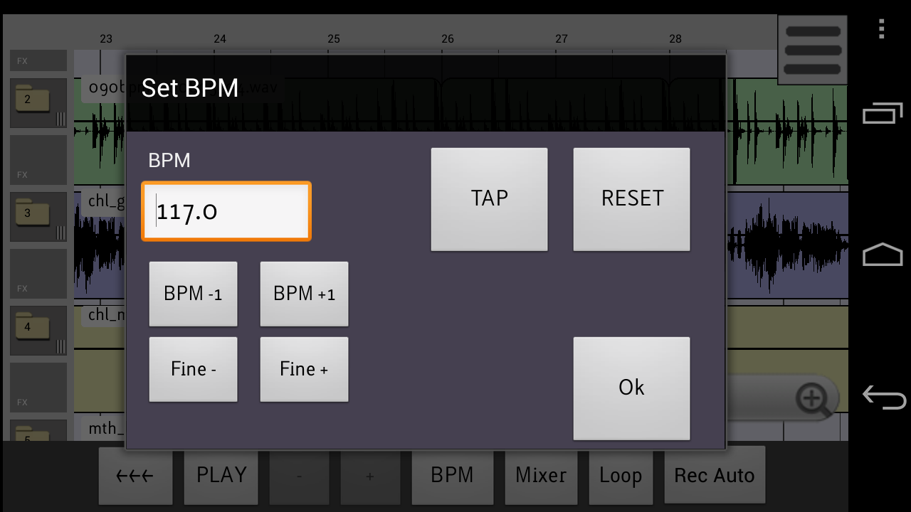 ReLoop Loop DAW- screenshot