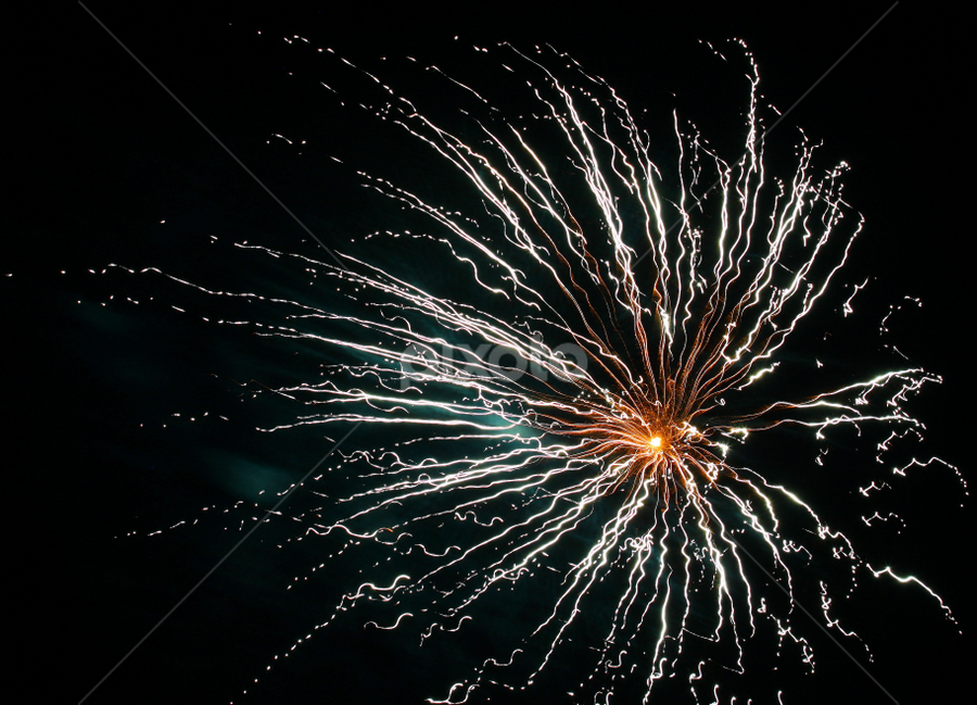 Soft and simple Fireworks shot by Ivy Luna - Public Holidays July 4th ( #4th of july, #fireworks, #softshot, #simpleone,  )