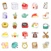 CUKI Theme Vintage Cute Icons
