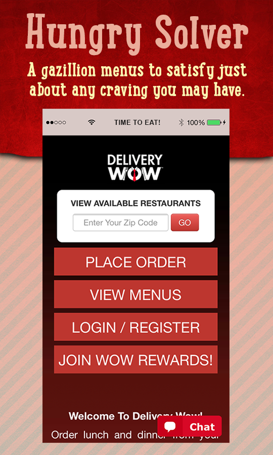 Delivery WOW- screenshot