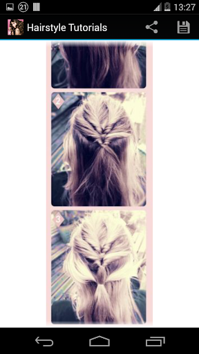 Hairstyles step by step  screenshots 4
