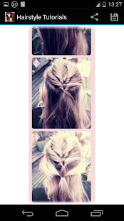 Hairstyles step by step- screenshot thumbnail