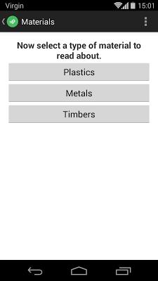 Materials & Processes - screenshot