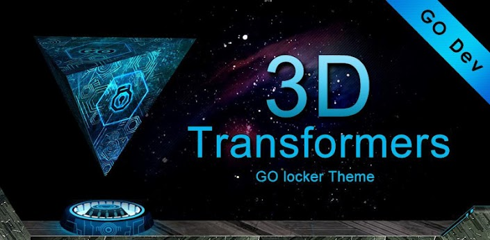 3D Transformer GO Locker Theme apk