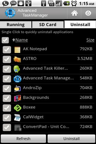 Advanced Task Manager - screenshot