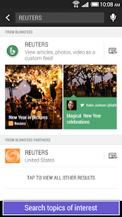HTC BlinkFeed - screenshot thumbnail