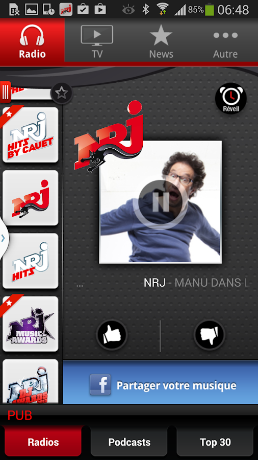 apps nrj mobile