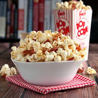 Homemade Maple Bacon Popcorn