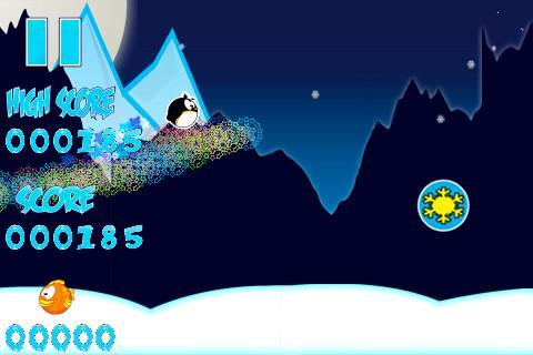 Subzero Surfer Penguin