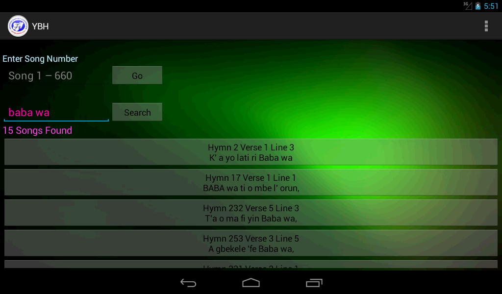 Yoruba Baptist Hymns - Android Apps on Google Play