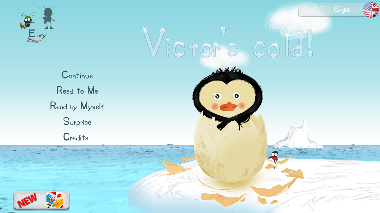 Victor's cold! Free- screenshot
