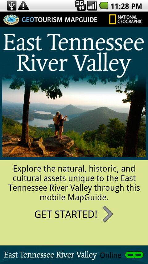 East Tennessee River Valley- screenshot