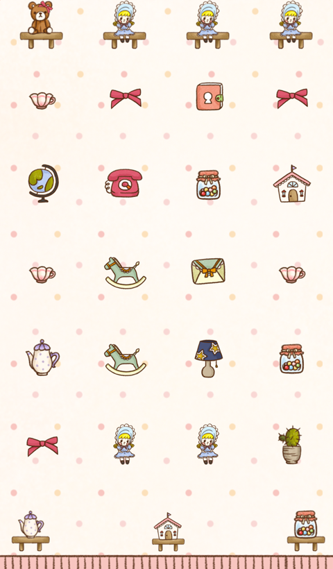 my favorite shelf dodol theme - screenshot