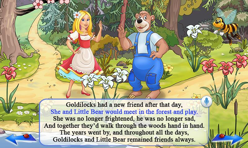 Goldilocks & Three Bears Book - screenshot