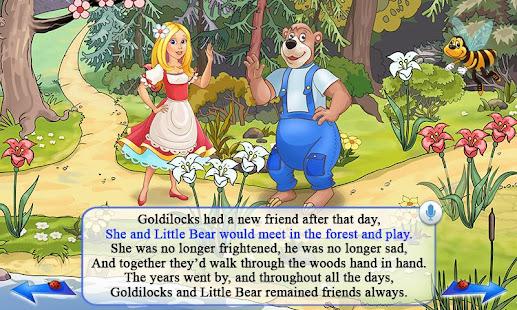 Screenshots of Goldilocks & Three Bears Book for iPhone