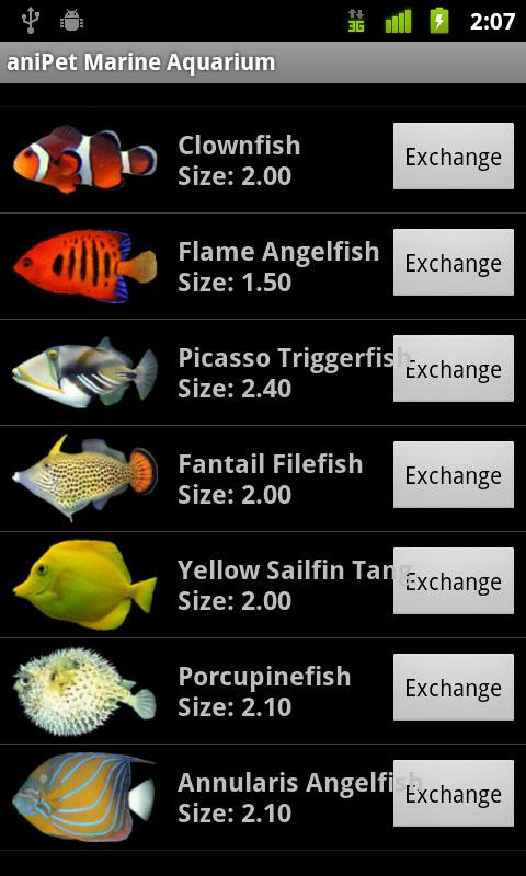 aniPet Marine Aquarium HD - screenshot