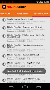 Muzike Shqip - Albanian Music - screenshot thumbnail