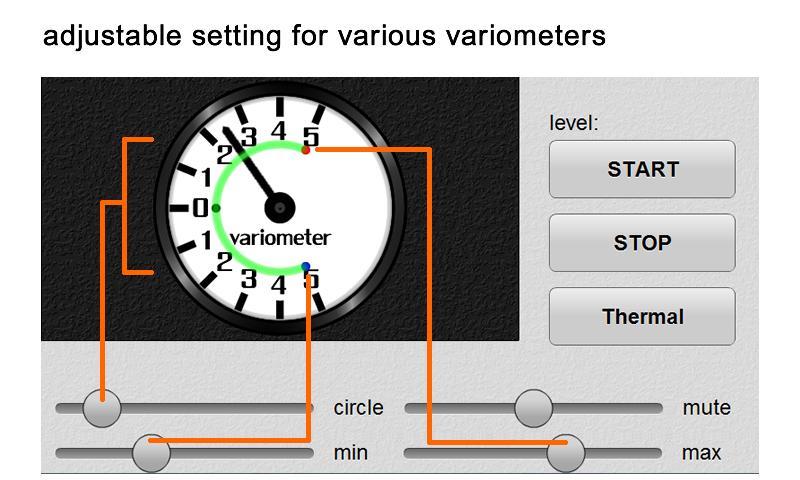 VarioBeeper- screenshot