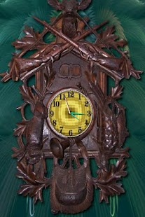 Deer Clock HD Cuckoo Clock - screenshot thumbnail