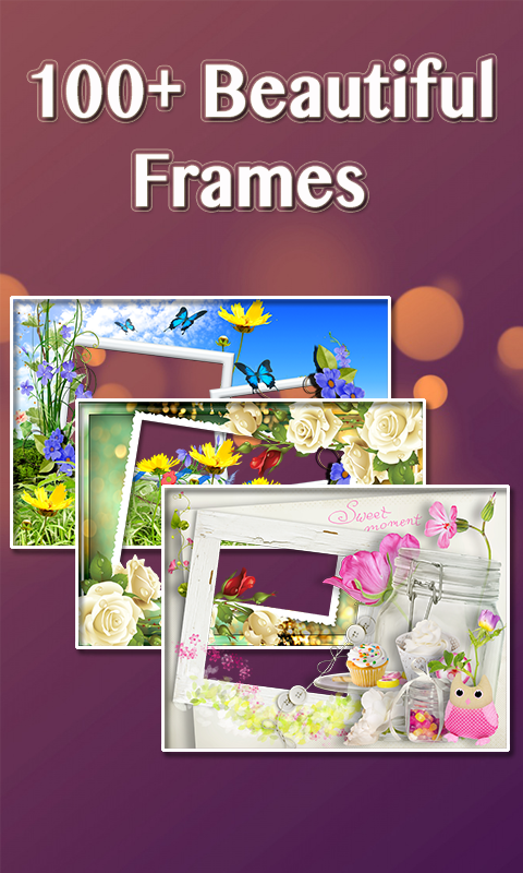 Lovely Photo Frames Pro- screenshot