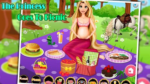 The princess goes to picnic
