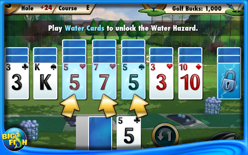 Fairway Solitaire! Screenshot 1