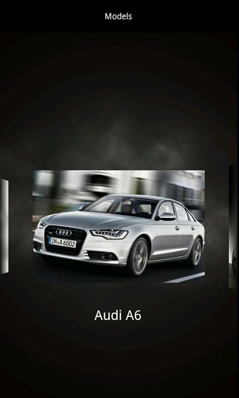Audi Encyclopedia - screenshot
