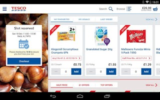 Screenshot of Tesco Groceries : Shop Online