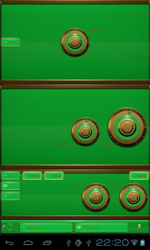 玩音樂App|elegance poweramp skin green免費|APP試玩