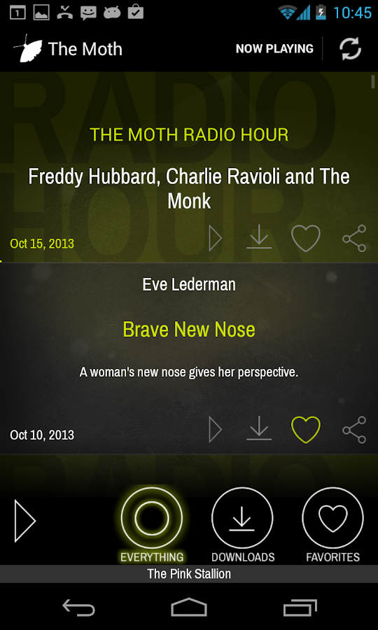 The Moth- screenshot