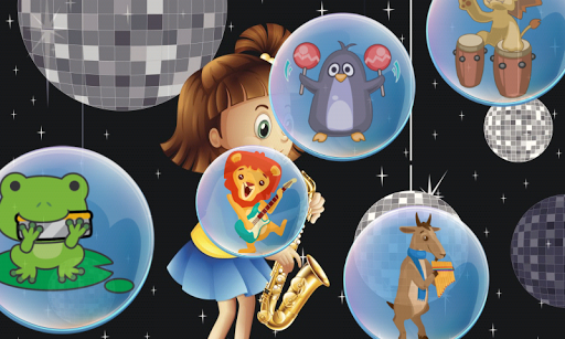 Music Bubbles for Toddlers Kid Screenshot