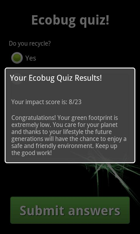Ecobug - screenshot