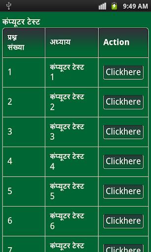 Computer GK Exam Hindi