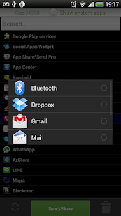 Apk/App Share/Send Bluetooth - screenshot thumbnail