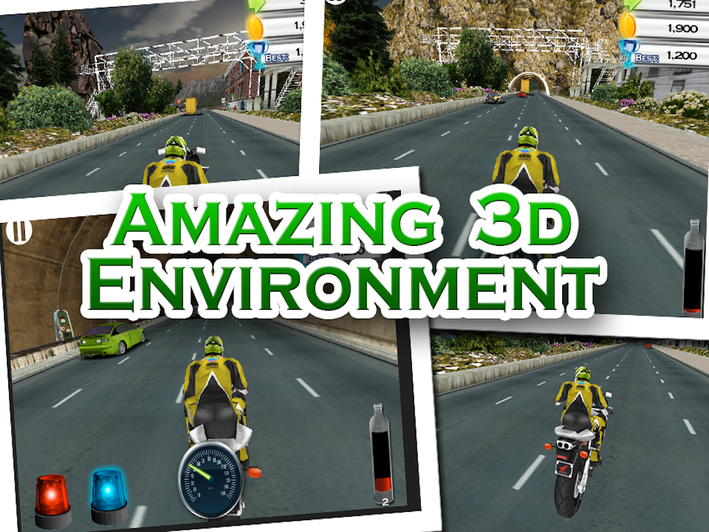 Street Bike Racing- screenshot