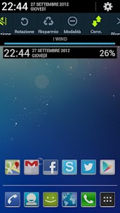 Jelly Bean Clock Widget UCCW - screenshot thumbnail