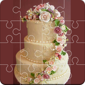 Tile Jigsaw Wedding Cake for PC and MAC