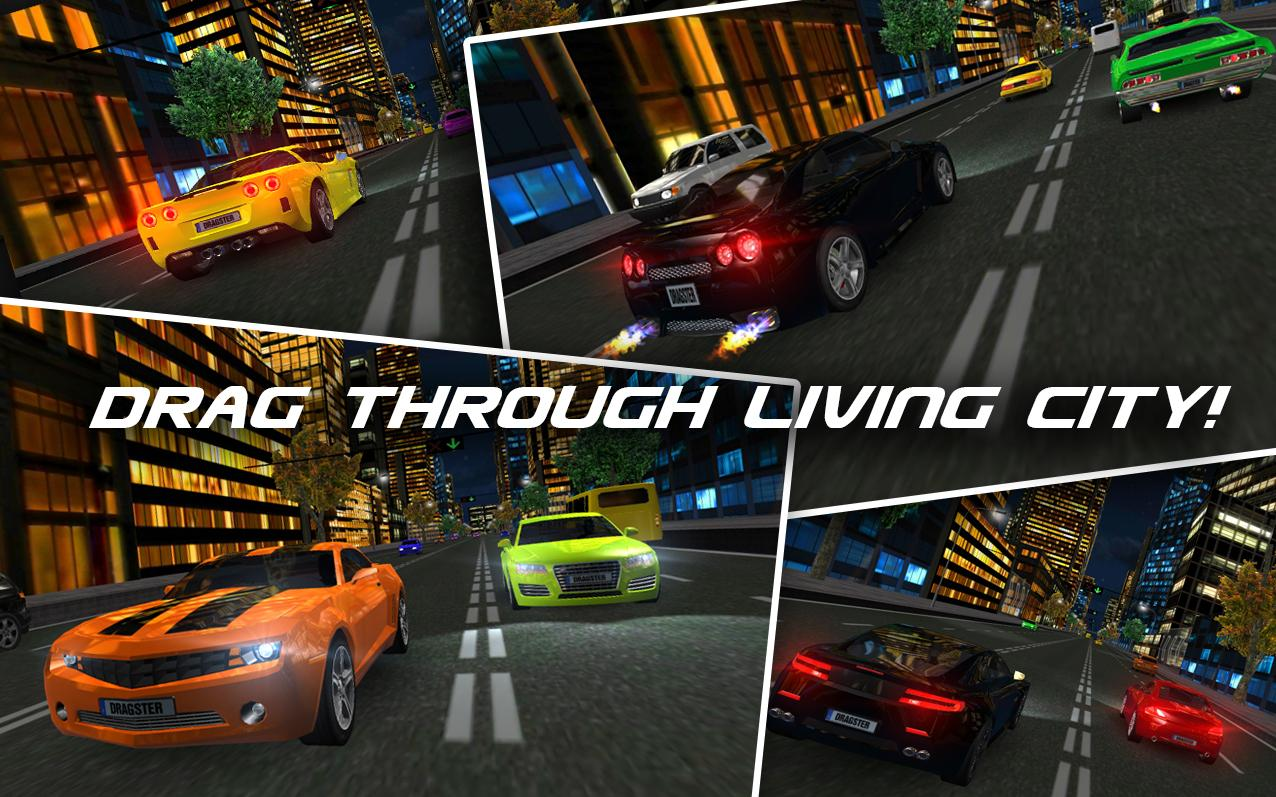 Drag Racing 3D - screenshot