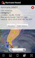 Screenshot of Hurricane Hound